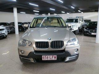 2007 BMW X5 E70 d Steptronic Executive Silver 6 Speed Sports Automatic Wagon.
