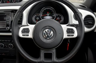 2013 Volkswagen Beetle 1L MY13 Coupe DSG White 7 Speed Sports Automatic Dual Clutch Liftback