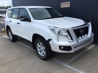 2016 Toyota Landcruiser Prado GDJ150R GX White 6 Speed Manual Wagon.