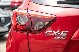 2015 Mazda CX-5 KE1032 Grand Touring SKYACTIV-Drive AWD Red 6 Speed Sports Automatic Wagon