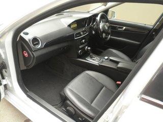 2012 Mercedes-Benz C-Class W204 MY12 C200 BlueEFFICIENCY Estate 7G-Tronic + Elegance Iridium Silver