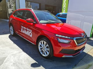 2020 Skoda Kamiq NW MY20.5 85TSI DSG FWD Velvet Red 7 Speed Sports Automatic Dual Clutch Wagon