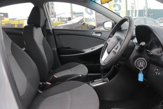 2012 Hyundai Accent RB Active Silver 4 Speed Sports Automatic Sedan