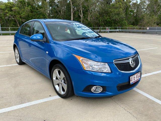 Used Holden Cruze Morayfield, 2014 Holden Cruze EQUIPE JH SERIE Blue 5 Speed Manual Hatchback