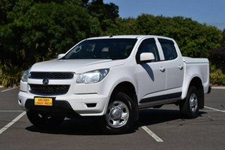 2016 Holden Colorado RG MY16 LS Crew Cab 4x2 White 6 Speed Sports Automatic Utility.