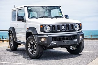2020 Suzuki Jimny JB74 White 5 Speed Manual Hardtop.