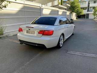 2010 BMW 3 Series E93 MY10.5 320d Steptronic White 6 Speed Sports Automatic Convertible