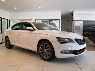 2018 Skoda Superb NP MY19 162TSI Sedan DSG Candy White 6 Speed Sports Automatic Dual Clutch Liftback.