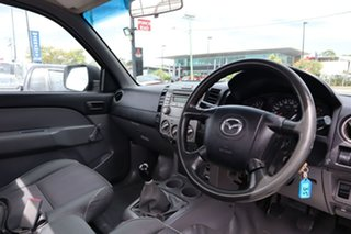 2009 Mazda BT-50 UNY0W4 DX 4x2 Black 5 Speed Manual Cab Chassis