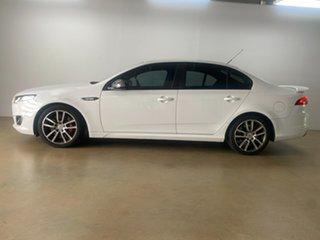 2015 Ford Falcon FG X XR6T White 6 Speed Auto Seq Sportshift Sedan.