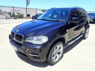 2010 BMW X5 E70 MY11 xDrive30d Steptronic Black Magic 8 Speed Sports Automatic Wagon