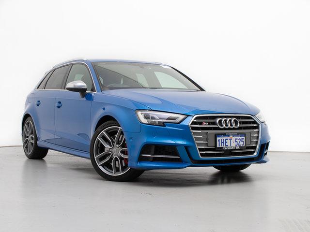 Used Audi S3 8V MY18 2.0 TFSI Quattro, 2017 Audi S3 8V MY18 2.0 TFSI Quattro Blue 7 Speed Auto S-Tronic Sedan