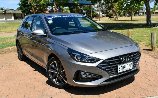 Demo Hyundai i30 PD.V4 MY21 Elite Ingle Farm, 2020 Hyundai i30 PD.V4 MY21 Elite Fluidic Metal 6 Speed Sports Automatic Hatchback