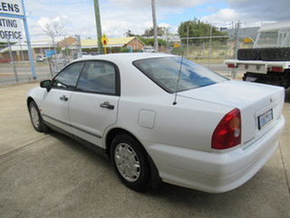 2001 Mitsubishi Magna TJ V6 Si Executive White 4 Speed Automatic Sedan