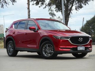 2017 Mazda CX-5 KF2W7A Maxx SKYACTIV-Drive FWD Sport Red 6 Speed Sports Automatic Wagon.