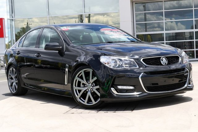 Used Holden Commodore VF II MY16 SS V Liverpool, 2015 Holden Commodore VF II MY16 SS V Black 6 Speed Manual Sedan