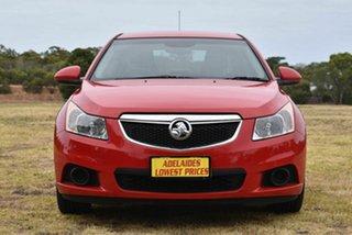 2012 Holden Cruze JH Series II MY12 CD Red 6 Speed Sports Automatic Sedan.