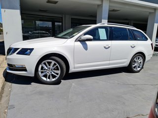 2019 Skoda Octavia NE MY20.5 110TSI DSG Candy White 7 Speed Sports Automatic Dual Clutch Wagon.