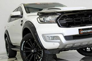 2017 Ford Everest UA MY18 Trend (4WD) White 6 Speed Automatic SUV.