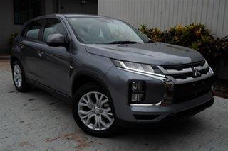 2020 Mitsubishi ASX XD MY21 ES 2WD Titanium Grey 1 Speed Constant Variable Wagon.