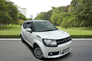 2016 Suzuki Ignis MF GL White 1 Speed Constant Variable Hatchback.
