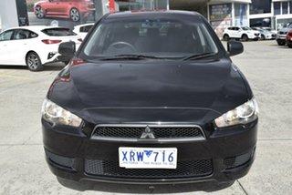 2009 Mitsubishi Lancer CJ MY09 ES Sportback Black/Grey 6 Speed Constant Variable Hatchback.