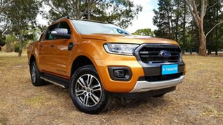 2019 Ford Ranger PX MkIII 2020.25MY Wildtrak Saber/grey 10 Speed Sports Automatic Double Cab Pick Up