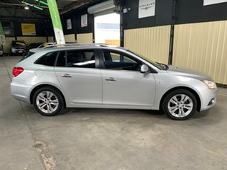 2013 Holden Cruze JH MY13 CD Silver 6 Speed Automatic Sportswagon.