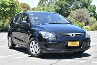 2011 Hyundai i30 FD MY11 SX Black 5 Speed Manual Hatchback.