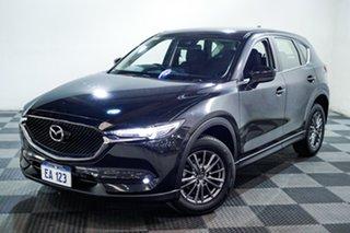 2017 Mazda CX-5 KF2W7A Maxx SKYACTIV-Drive FWD Sport Black 6 Speed Sports Automatic Wagon.