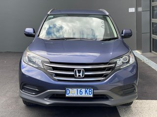 2013 Honda CR-V RM MY14 VTi 4WD Blue 5 Speed Sports Automatic Wagon.