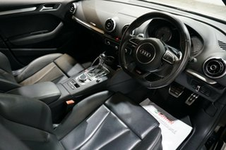 2014 Audi S3 8V MY14 Sportback S Tronic Quattro Black 6 Speed Sports Automatic Dual Clutch Hatchback