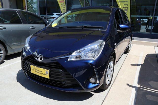 Used Toyota Yaris NCP131R SX Castle Hill, 2019 Toyota Yaris NCP131R SX Blue 4 Speed Automatic Hatchback