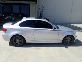 2010 BMW 135i E82 MY11 Sport Silver Metallic 7 Speed Auto Dual Clutch Coupe