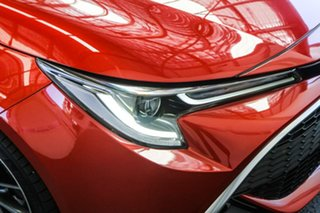 2019 Toyota Corolla ZWE211R ZR E-CVT Hybrid Volcanic Red 10 Speed Constant Variable Hatchback Hybrid
