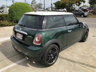 2012 Mini Hatch R56 LCI Cooper D Steptronic Green 6 Speed Sports Automatic Hatchback
