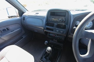 2002 Nissan Navara D22 MY2002 ST-R Silver 5 Speed Manual Utility.