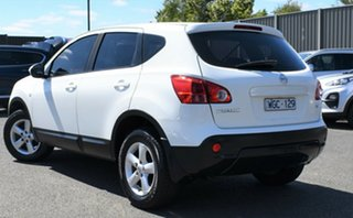 2008 Nissan Dualis J10 ST X-tronic AWD White 6 Speed Constant Variable Hatchback.