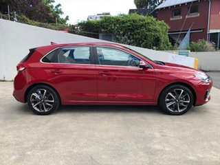 2020 Hyundai i30 PD.V4 MY21 Elite Fiery Red 6 Speed Sports Automatic Hatchback