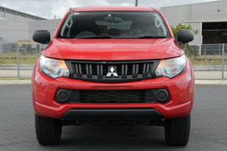 2017 Mitsubishi Triton MQ MY17 GLX Plus (4x4) Red 5 Speed Automatic Club Cab Pickup