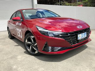 2020 Hyundai i30 CN7.V1 MY21 Active Fiery Red 6 Speed Sports Automatic Sedan