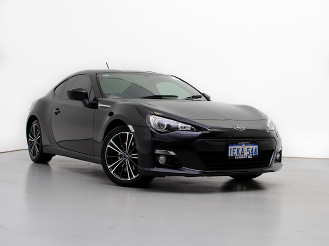 Used Subaru BRZ MY13 , 2013 Subaru BRZ MY13 Black 6 Speed Manual Coupe