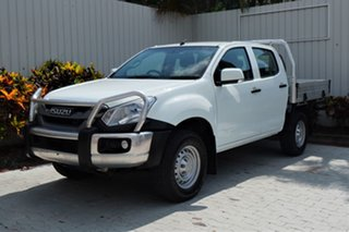 2018 Isuzu D-MAX MY18 SX Crew Cab White 6 Speed Sports Automatic Cab Chassis