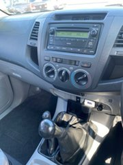 2007 Toyota Hilux KUN26R MY07 SR White 5 Speed Manual Utility