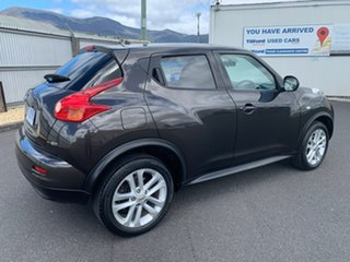 2013 Nissan Juke F15 MY14 ST 2WD Brown 1 Speed Constant Variable Hatchback.