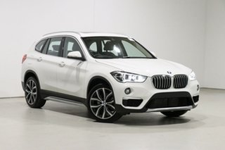 2019 BMW X1 F48 MY19 xDrive 25I White 8 Speed Automatic Wagon.