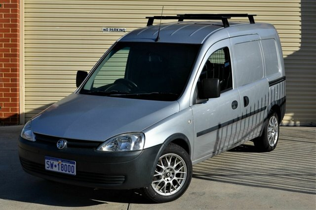 Used Holden Combo XC MY07.5 Mount Lawley, 2009 Holden Combo XC MY07.5 Silver 5 Speed Manual Van