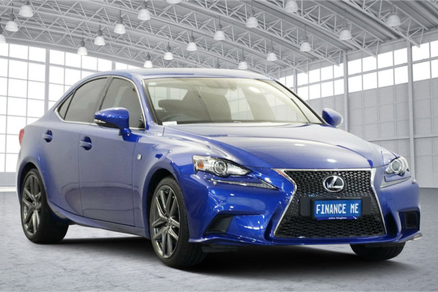 Used Lexus IS GSE31R IS350 F Sport Victoria Park, 2015 Lexus IS GSE31R IS350 F Sport Blue 8 Speed Sports Automatic Sedan