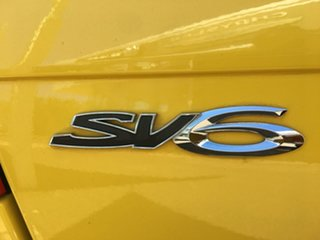 2010 Holden Commodore VE Series II SV6 Yellow Sports Automatic
