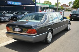 1993 Mercedes-Benz 400 SEL Black 4 Speed Automatic Sedan.